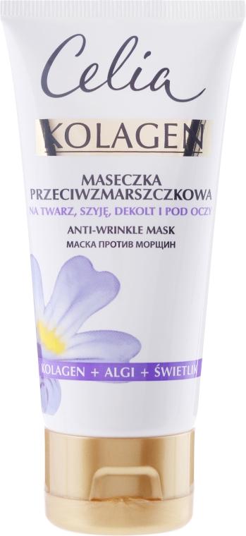 Ránctalanító arcmaszk - Celia Collagen Mask