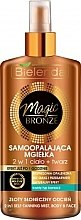 Parfüm, Parfüméria, kozmetikum Önbarnító spray arcra és testre - Bielenda Magic Bronze