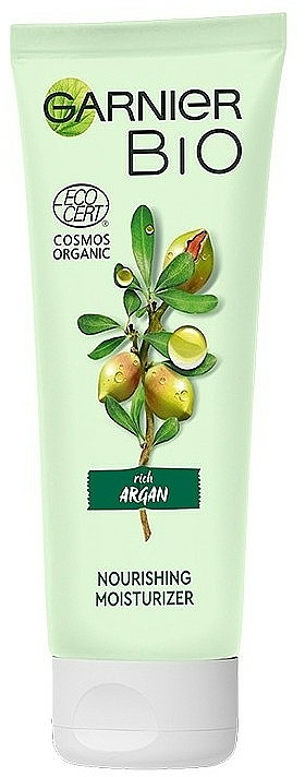 Tápláló és hidratáló arckrém - Garnier Bio Argan