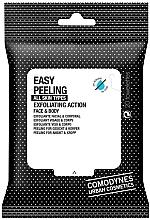 Parfüm, Parfüméria, kozmetikum Hámlasztó törlőkendő - Comodynes Easy Peeling Exfoliating Action Face and Body