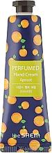 "Parfüm, Parfüméria, kozmetikum Illatosított kézkrém ""Sárgabarack"" - The Saem Perfumed Apricot Hand Cream"