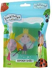 """Parfüm, Parfüméria, kozmetikum Gyerek fürdőszivacs """"Ben és Holly"""", Holly, salátazöld-zöld - Suavipiel Ben & Holly Bath Sponge"""