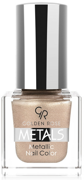 Körömlakk - Golden Rose Metals Metallic Nail Color