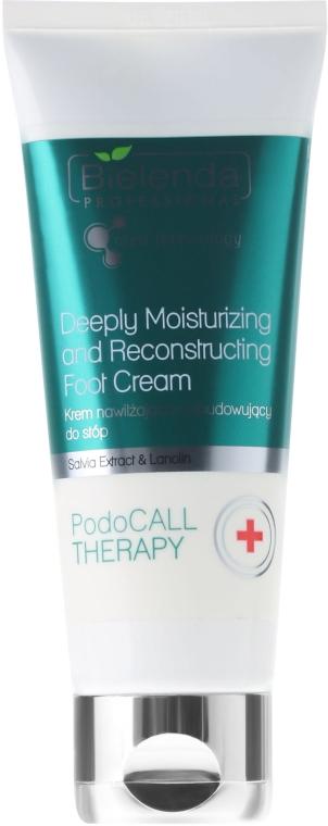 Hidratáló és regeneráló lábkrém - Bielenda Professional PodoCall Therapy Deeply Moisturizing And Reconstructing Foot Cream