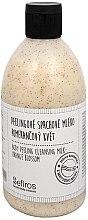 Parfüm, Parfüméria, kozmetikum Fürdőtej - Sefiros Body Peeling Cleansing Milk Orange Blossom
