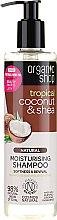 """Parfüm, Parfüméria, kozmetikum Sampon """"Kókusz és sheavaj"""" - Organic Shop Coconut Shea Moisturising Shampoo"""