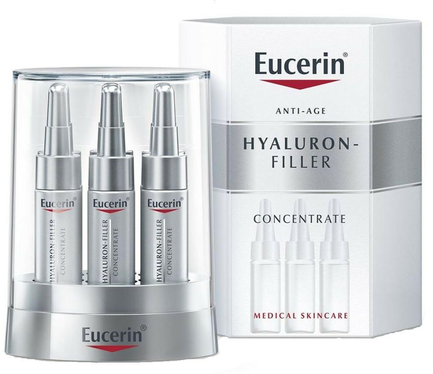 Ampullák hialuronsaval - Eucerin Hyaluron-Filler Concentrate — fotó N1