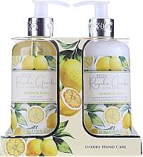 Parfüm, Parfüméria, kozmetikum Szett - Baylis & Harding Royale Garden Lemon & Basil (l/soap/300ml + b/lot/300ml)