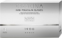 Parfüm, Parfüméria, kozmetikum Hajhuáást kezelő komplexum nőknek 1900 - Labo Crescina Hair Follicular Island Re-Growth Anti-Hair Loss Complete Treatment 1900 Woman