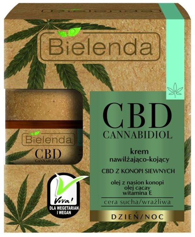 Hidratáló arckrém - Bielenda CBD Cannabidiol Cream