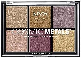 Parfüm, Parfüméria, kozmetikum Szemhéjfesték paletta - NYX Professional Makeup Cosmic Metals Shadow Palette
