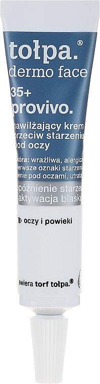 Öregedésgátló szemkontúr krém - Tolpa Provivo 35+ Anti-Age..