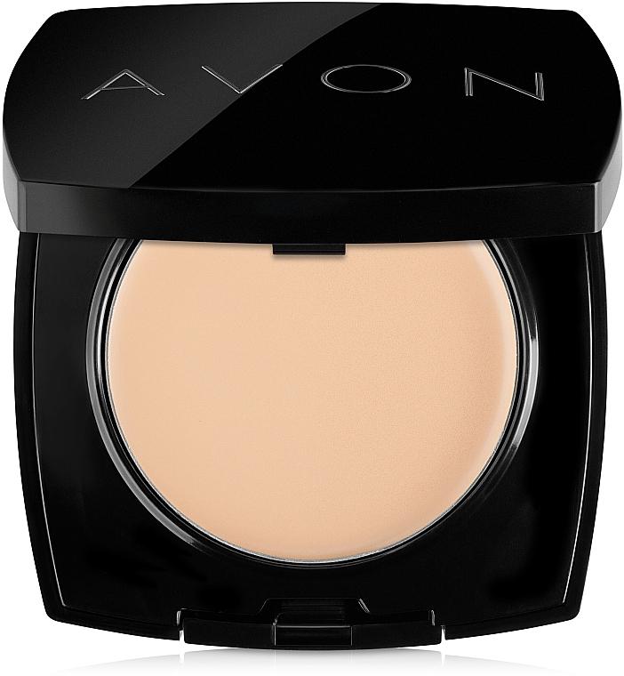 Kompakt krémpúder arcra - Avon True Cream-Powder Compact