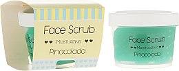 Parfüm, Parfüméria, kozmetikum Hidratáló bőrradír arcra és ajakra - Nacomi Moisturizing Face&Lip Scrub Pinacolada