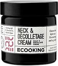 Parfüm, Parfüméria, kozmetikum Krém nyakra és dekoltázsra - Ecooking Neck & Decolletage Cream