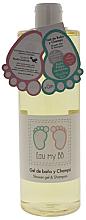 Parfüm, Parfüméria, kozmetikum Tusfürdő gél - Air-Val International Eau My BB Shower Gel & Shampoo