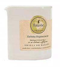 """Parfüm, Parfüméria, kozmetikum Masszázsgyertya """"Revitalizáló zöld"""" - Flagolie Green Regeneration Massage Candle"""