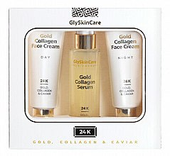Parfüm, Parfüméria, kozmetikum Szett - GlySkinCare Gold Collagen (cr/2x50ml + serum/50ml)