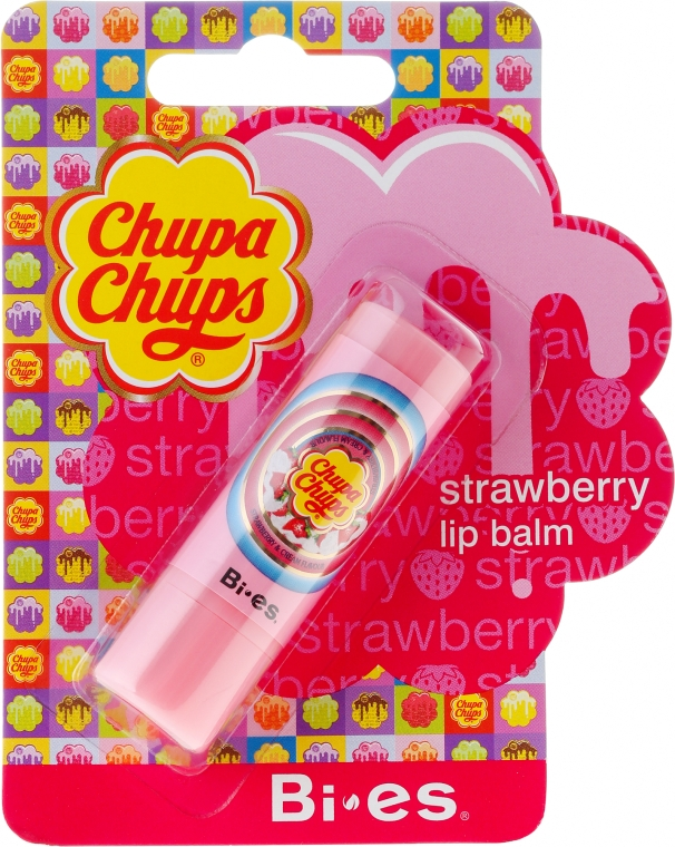 Ajakbalzsam - Bi-es Chupa Chups Strawberry