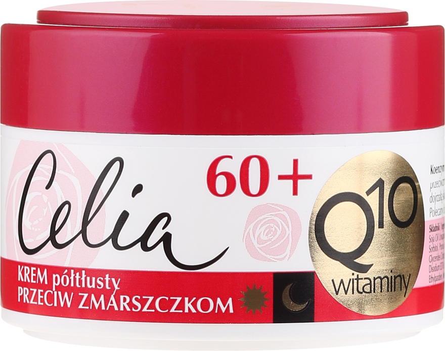 Anti age arckrém - Celia Q10 Face Cream 60+