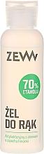 Parfüm, Parfüméria, kozmetikum Kézfertőtlenítő aloe verával - Zew Antibacterial Hand Gel