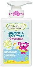 Parfüm, Parfüméria, kozmetikum Baba sampon és tusoló gél 2 az 1-ben - Jack N' Jill Sweetness Shampoo & Body Wash