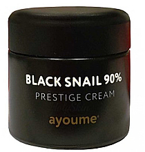 Parfüm, Parfüméria, kozmetikum Fekete csiga mucin arckrém - Ayoume Black Snail Prestige Cream
