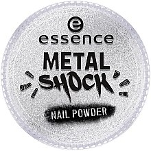 Parfüm, Parfüméria, kozmetikum Körömdíszítő púder - Essence Metal Shock Rainbow Nail Powder
