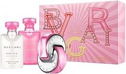 Parfüm, Parfüméria, kozmetikum Bvlgari Omnia Pink Sapphire - Szett (edt/40ml + b/lot/40ml + sh/gel/40ml)