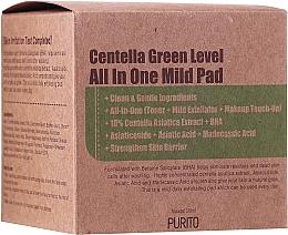 Parfüm, Parfüméria, kozmetikum Hidratáló arctisztító párna centellával - Purito Centella Green Level All In One Mild Pad