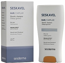 Parfüm, Parfüméria, kozmetikum Sampon glikolsavval - SesDerma Laboratories Seskavel Glycolic Shampoo