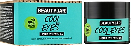 "Parfüm, Parfüméria, kozmetikum Szemtapasz ""Cool Eyes"" - Beauty Jar Liquid Eye Patches"