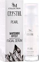 Parfüm, Parfüméria, kozmetikum Természetes gyöngyös gél-szérum - SM Collection Crystal Pearl Facial Serum