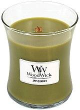Parfüm, Parfüméria, kozmetikum Illatosított gyertya pohárban - WoodWick Hourglass Candle Apple Basket