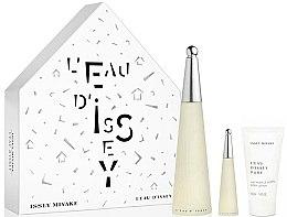 Parfüm, Parfüméria, kozmetikum Issey Miyake Leau Dissey - Szett (edt/100ml + edt/10ml + b/lot/50ml)