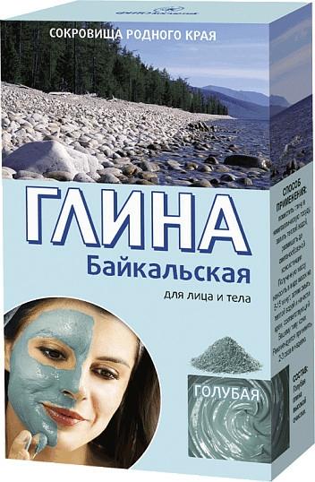 """Agyag arcra és testre """"Bajkál"""", halványkék - Fito Kozmetikum"""