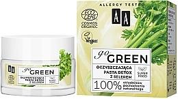 Parfüm, Parfüméria, kozmetikum Tisztító méregtelenítő paszta zellerrel - AA Go Green