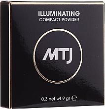 Parfüm, Parfüméria, kozmetikum Világosító arcpúder - MTJ Cosmetics Illuminating Compact Powder