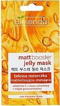 Parfüm, Parfüméria, kozmetikum Mattító gél és maszk zsíros és kombinált bőrre - Bielenda Matt Booster Jelly Mask