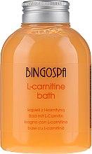 Parfüm, Parfüméria, kozmetikum L-karnitin fürdőhab - BingoSpa