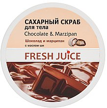 Parfüm, Parfüméria, kozmetikum Cukros testradír - Fresh Juice Chocolate and Marzipan