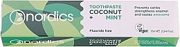 """Parfüm, Parfüméria, kozmetikum Fogkrém """"Kókusz és menta"""" - Nordics Coconut + Mint Toothpaste"""
