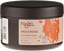 Parfüm, Parfüméria, kozmetikum Piros agyag - Najel Red Clay For Healthy Glow