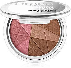Parfüm, Parfüméria, kozmetikum Bronzosító arcra - Lirene Shiny Touch Mineral Bronzer & Blush