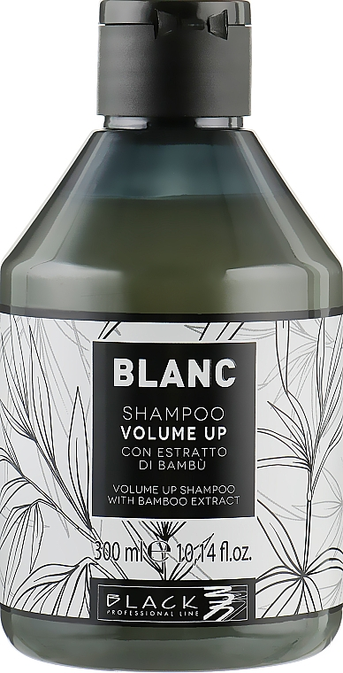 Hajdúsító sampon - Black Professional Line Blanc Volume Up Shampoo