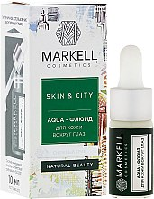 "Parfüm, Parfüméria, kozmetikum Aqua-folyadék a szem körüli bőre ""Hógomba"" - Markell Cosmetics Skin&City Face Mask"