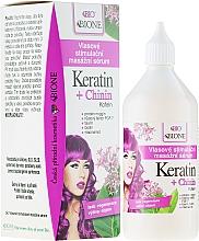 Parfüm, Parfüméria, kozmetikum Hajszérum - Bione Cosmetics Keratin + Quinine Stimulating Massaging Hair Serum