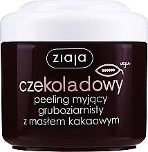 """Parfüm, Parfüméria, kozmetikum Durvaszemcsés testradír """"Kakaóvaj"""" - Ziaja Body Peeling"""
