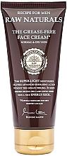 Parfüm, Parfüméria, kozmetikum Arckrém - Recipe For Men RAW Naturals The Grease-Free Face Cream