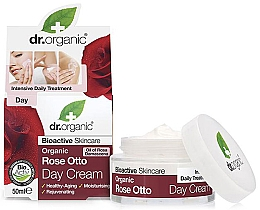 """Parfüm, Parfüméria, kozmetikum Öregedésgátló nappali krém """"Rose otto"""" - Dr. Organic Bioactive Skincare Rose Otto Day Cream"""